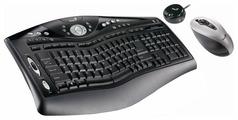 Клавиатура и мышь Genius ErgoMedia 823 Laser Black USB