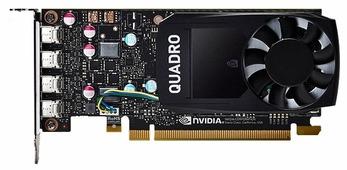 Видеокарта PNY Quadro P600 PCI-E 3.0 2048Mb 128 bit HDCP