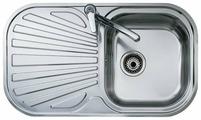 Врезная кухонная мойка TEKA Stylo 1B 1D 83х48.5см нержавеющая сталь