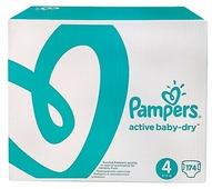 Pampers подгузники Active Baby-Dry 4 (8-14 кг) 174 шт.