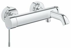Смеситель для ванны с душем Grohe Essence 33624001 однорычажный хром