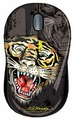 Мышь Ed Hardy Wired mouse Tiger Black USB
