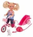 Набор Simba Еви на велосипеде с собачкой 12 см в ассортименте 5730783