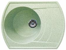 Врезная кухонная мойка Gran-Stone GS-65 65х50см искусственный мрамор