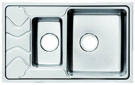 Врезная кухонная мойка IDDIS Reeva REE78SZi77