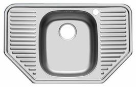 Врезная кухонная мойка UKINOX Comfort COL 777.488-GT6K 77.7х48.8см нержавеющая сталь