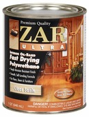 Лак ZAR Ultra Interior Oil-Based Polyurethane полуматовый (0.95 л)