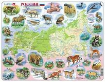 Рамка-вкладыш Larsen Россия (K50), 100 дет.