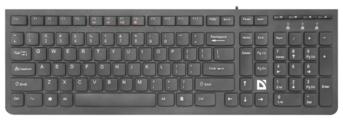 Клавиатура Defender UltraMate SM-530 RU Black USB