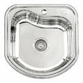 Врезная кухонная мойка Ledeme L94948 48х49см нержавеющая сталь