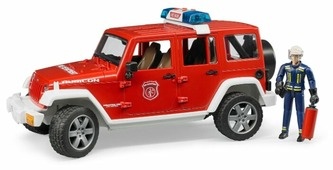 Внедорожник Bruder Jeep Wrangler Unlimited Rubicon (02-528) 1:16