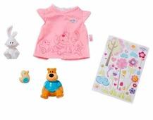 Zapf Creation Одежда с животными для куклы Baby Born 819616