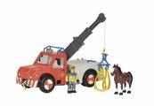 Игровой набор Simba Fireman Sam Феникс с фигуркой пожарного и лошадью 9258280