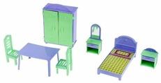 Пластмастер Набор мебели Квартирка (22180)