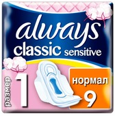 Always прокладки Classic Sensitive Normal