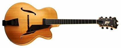 Полуакустическая гитара Peerless Imperial