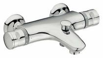 Смеситель для ванны с душем Jacob Delafon Stomb E71071 двухрычажный с термостатом хром
