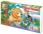 Пластилин Луч Zoo 12 цветов (19С1272-08)