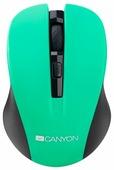 Мышь Canyon CNE-CMSW1GR Green USB