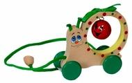 Каталка-игрушка Крона Улитка-бубенчик (213-043)