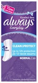 Always прокладки ежедневные Everyday Normal Clean & Protect
