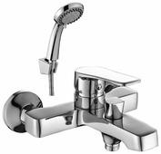 Однорычажный смеситель для ванны с душем DecoRoom DR39036