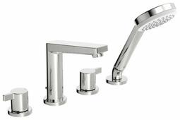 Двухрычажный смеситель для ванны с душем Oras Twista 3843