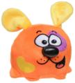 Мягкая игрушка СмолТойс Щенок Кругляш оранжевый 11 см