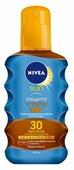 Nivea Sun солнцезащитное масло-спрей для загара Защита и загар SPF 30