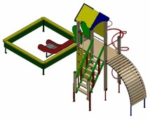 Спортивно-игровой комплекс ЭКТА Пирамида