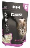 Gamma - наполнитель для кошачьих туалетов, силикогелевый, впитывающий 5 л