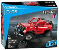 Электромеханический конструктор Double Eagle CaDA Technic C51001W Воин бездорожья