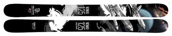 Горные лыжи Icelantic Nomad 125 (17/18)