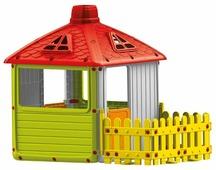 Домик Dolu City House с забором 3011