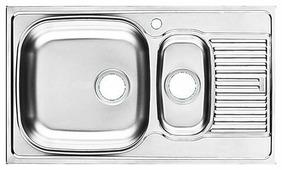 Врезная кухонная мойка UKINOX Grand GR 860.500 15 GT 86х50см нержавеющая сталь