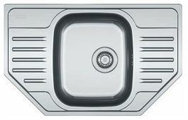 Врезная кухонная мойка FRANKE PXN 612 E 78х49см нержавеющая сталь