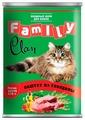 Корм для кошек CLAN Family Паштет из говядины для кошек