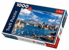 Пазл Trefl Порт Джексон Сидней (10206), 1000 дет.