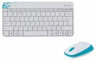 Logitech Wireless Combo MK240 white