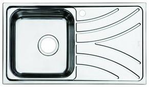 Врезная кухонная мойка IDDIS Arro ARR78SLi77
