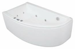Ванна POOLSPA LAURA 150x90 SMART 2 акрил угловая