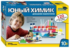 Набор Step puzzle Юный химик. Домашняя лаборатория (76094)