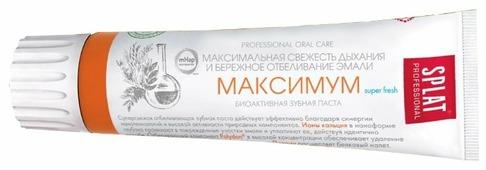 Зубная паста SPLAT Professional Максимум