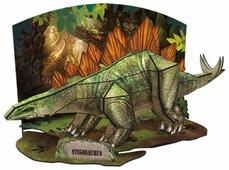 3D-пазл CubicFun Эра Динозавров Стегозавр (P670h), 49 дет.