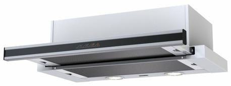 Встраиваемая вытяжка Krona Kamilla Sensor 2M 600 inox/black glass