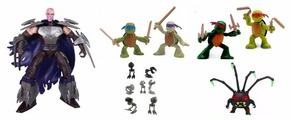 Фигурка Playmates TOYS TMNT Series 6 90526/90527/90528/90530/90535