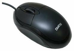 Мышь Dialog MOP-00BP Black PS/2