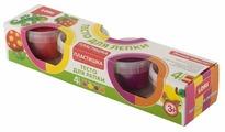 Масса для лепки LORI Пластишка №11 - 4 цвета (Тдл-014)