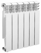 Радиатор секционный алюминий Lammin Eco AL-500-80