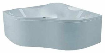 Ванна POOLSPA PERSJA 140x140 SMART 2+ акрил угловая